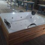 bañera de hidromasajes placer portátil