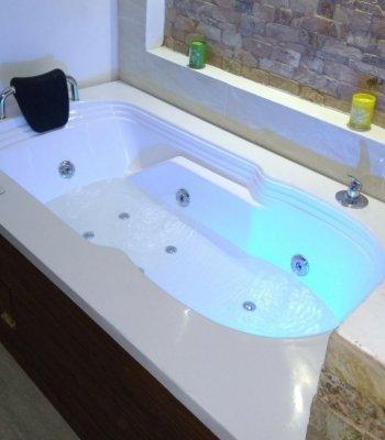 bañera de hidromasajes serena